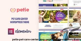 Petie - Pet Care Center & Veterinary WordPress Theme By opal_wp
