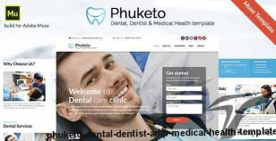 Phuketo - Dental, Dentist & Medical Health Template