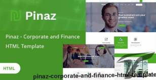 Pinaz - Corporate and Finance HTML Template By template_mr