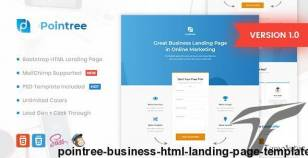 Pointree - Business HTML Landing Page Template By morad