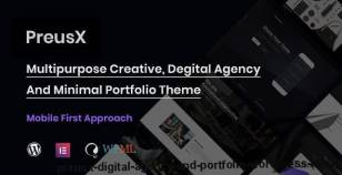 PreusX - Digital Agency And Portfolio WordPress Theme By softhopper