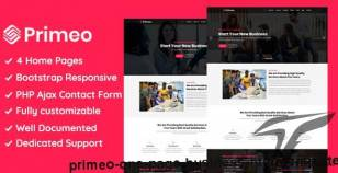 Primeo - One Page Business HTML Template By thememeta