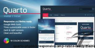 Quarto —phpBB3 Responsive & Retina Ready Theme By pixelgoose