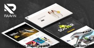 Raavin - Shoes eCommerce Bootstrap 4 Template By hastech