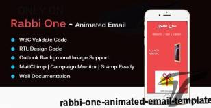 Rabbi One - Animated Email Template By email_templates