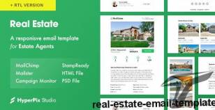 Real Estate Email Template By hyperpix
