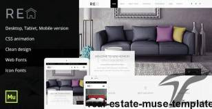 Real Estate Muse Template By maximustheme