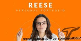 Reese – Bootstrap 4 Personal Portfolio By themepaa