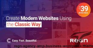 Regn | Agency & Business WordPress Theme By code-less