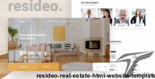 Resideo - Real Estate HTML Website Template By mariusnastase