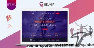 Reunir – Sports Investment Templates By uiaxis