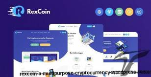 RexCoin | A Multi-Purpose Cryptocurrency WordPress Theme By themerex
