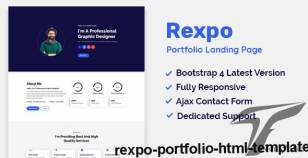 Rexpo - Portfolio HTML Template By rootpointer