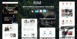 Rim - Multipurpose Responsive Email Template with Stampready Builder Access