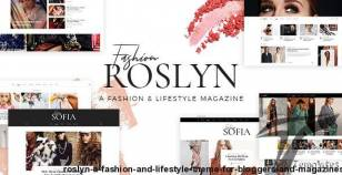 Roslyn - A Fashion and Lifestyle Theme for Bloggers and Magazines