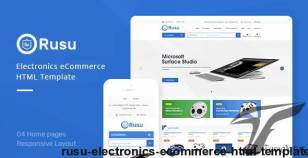 Rusu - Electronics eCommerce HTML Template By hastech