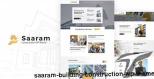Saaram - Building Construction WP Theme By designthemes