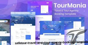SafeTour - Travel & Tour Agency Booking Template By ecologytheme