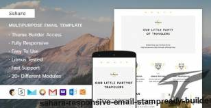 Sahara ? Responsive Email + StampReady Builder By themescode