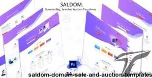 Saldom - Domain Sale And Auction Templates By pixelaxis