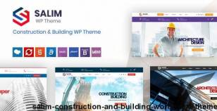 Salim - Construction and Building WordPress Theme By nile-theme