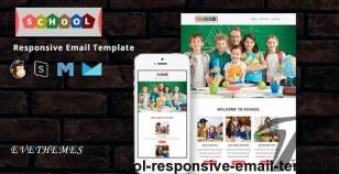 School - Responsive Email Template By evethemes
