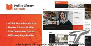 Scientia | Public Library & Book Store Education WordPress Theme By themerex