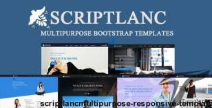 Scriptlanc-Multipurpose Responsive Template By dotcomfactory