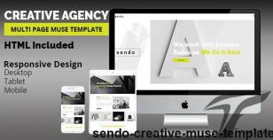 SENDO Creative Muse Template By k-project