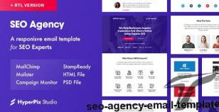 SEO Agency Email Template By hyperpix