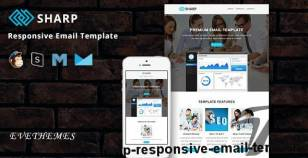 Sharp - Responsive Email Template By evethemes