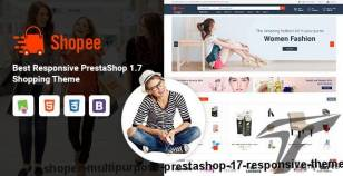 Shopee - MultiPurpose PrestaShop 1.7 Responsive Theme By skyoftech