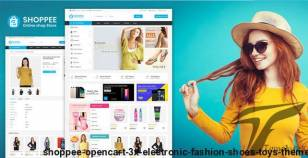 Shoppee OpenCart 3.X electronic Fashion shoes toys Theme By inspiretemplate