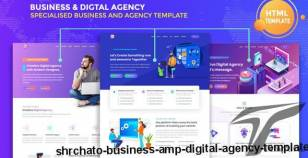 Shrchato – Business & Digital Agency Template By semothemes