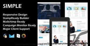 SIMPLE - Multipurpose Responsive Email Template + Stamp Ready Builder By evethemes