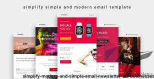Simplify - Modern and Simple Email Newsletter for Businesses By yemail