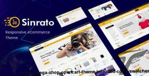 Sinrato - Mega Shop OpenCart Theme (Included Color Swatches) By plaza-themes