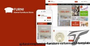Sj Furni - Responsive Furniture VirtueMart 3 Template By smartaddons