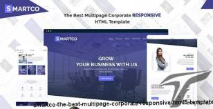 SMARTCO - The Best Multipage Corporate Responsive HTML5 Template By enventer