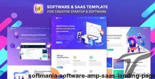 Softmania - Software & Saas Landing Page By plainthing-studio
