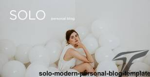 Solo - Modern Personal Blog Template