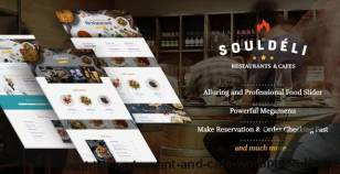 Souldeli - Restaurant and Cafe WordPress Theme By themelexus
