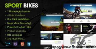 Sportbike - Premium Responsive OpenCart Theme By magentech