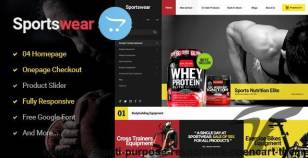 Sportwear - Multi Purpose Responsive OpenCart   Theme By 24webgroup