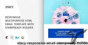 Stacy – Responsive Email + StampReady Builder By themescode