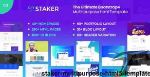 Staker - Multi-Purpose HTML5 Template By themebeck