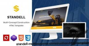 Standell | Multipurpose Construction HTML Template By themesflat