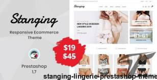 Stanging - Lingerie Prestashop Theme By templatemela
