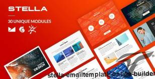Stella Email-Template + Online Builder By liveautograph