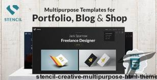 Stencil - Creative Multi-Purpose HTML Theme By osumstudio